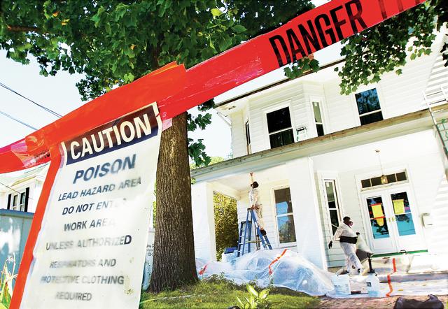 Lead hazard remediation